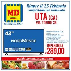 Offerte Discount nella volantino di MD Discount a Cagliari ( Per altri 2 giorni )