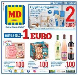 Offerte Discount nella volantino di MD Discount a Roma ( Per altri 7 giorni )