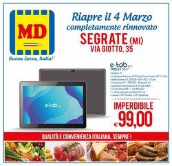 Offerte Discount nella volantino di MD Discount a Milano ( Per altri 3 giorni )