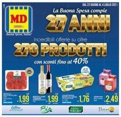 Offerte di MD Discount nella volantino di MD Discount ( Pubblicato oggi)