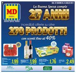 Offerte di Discount nella volantino di MD Discount ( Pubblicato oggi)