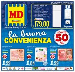 Offerte di Discount nella volantino di MD Discount ( Scade oggi)