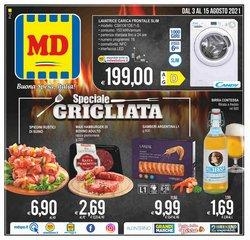 Offerte di Discount nella volantino di MD Discount ( Per altri 11 giorni)