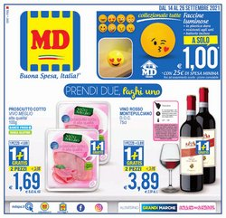 Offerte di Discount nella volantino di MD Discount ( Per altri 9 giorni)