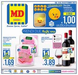 Offerte di Discount nella volantino di MD Discount ( Per altri 6 giorni)
