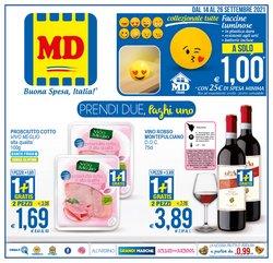 Offerte di MD Discount nella volantino di MD Discount ( Per altri 9 giorni)