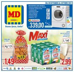 Offerte di Discount nella volantino di MD Discount ( Per altri 5 giorni)