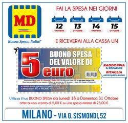Offerte di MD Discount nella volantino di MD Discount ( Scade oggi)