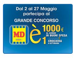 Offerte di MD Discount nella volantino di Napoli