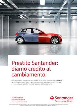 Offerte di Grandi Firme nella volantino di Santander Consumer Bank ( Per altri 15 giorni)