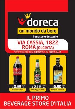 Offerte di Iper Supermercati nella volantino di Doreca ( Pubblicato ieri)