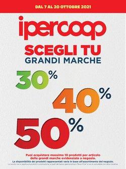 Offerte di Iper Supermercati nella volantino di Ipercoop Alleanza 3.0 ( Scade domani)