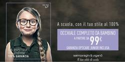 Offerte Ottica nella volantino di Salmoiraghi & Viganò a Catania