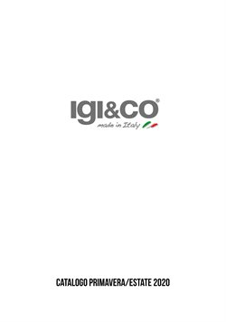 Catalogo Igi & Co ( Scaduto )