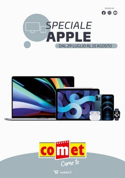 Offerte di Elettronica e Informatica nella volantino di Comet ( Pubblicato oggi)