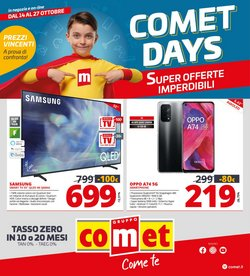 Offerte di Elettronica e Informatica nella volantino di Comet ( Per altri 4 giorni)