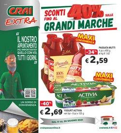 Offerte di Iper Supermercati nella volantino di Crai ( Pubblicato oggi)