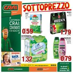 Offerte di Iper Supermercati nella volantino di Crai ( Per altri 2 giorni)