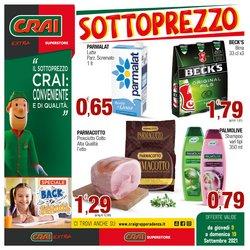 Offerte di Iper Supermercati nella volantino di Crai ( Scade domani)