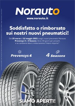 Offerte Auto, Moto e Ricambi nella volantino di Norauto a Seregno ( Per altri 28 giorni )
