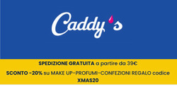 Coupon Caddy's a Roma ( 3  gg pubblicati )