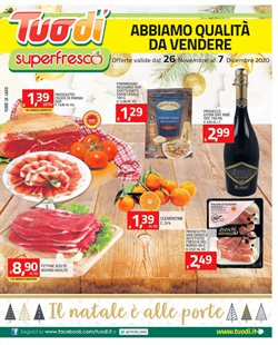 Offerte Iper Supermercati nella volantino di TuoDi a Aprilia ( Per altri 8 giorni )