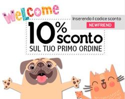 Offerte Animali nella volantino di Arcaplanet a Catania