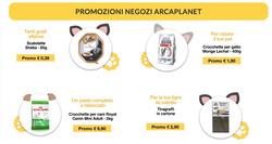 Offerte Animali nella volantino di Arcaplanet a Roma