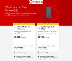 Offerte di Vodafone nella volantino di Vodafone ( Per altri 4 giorni)