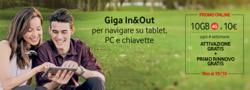 Offerte di Vodafone nella volantino di Venezia