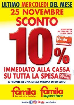 Catalogo Famila a Milano ( Scade oggi )
