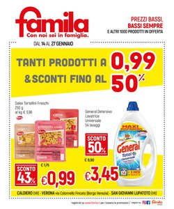 Offerte Iper Supermercati nella volantino di Famila a Trissino ( Per altri 4 giorni )