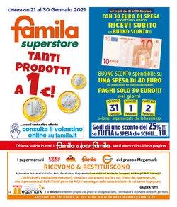 Offerte Iper Supermercati nella volantino di Famila a Bisceglie ( Pubblicato oggi )