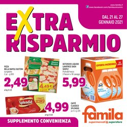 Offerte Iper Supermercati nella volantino di Famila a Fiume Veneto ( 3  gg pubblicati )