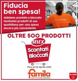 Catalogo Famila a Bologna ( Più di un mese )