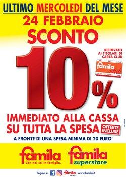Catalogo Famila a Bologna ( Scaduto )