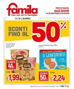 Catalogo Famila a Verona ( Pubblicato oggi )