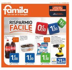 Offerte di Iper Supermercati nella volantino di Famila ( Per altri 2 giorni)