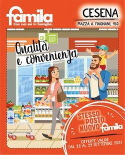 Offerte di Iper Supermercati nella volantino di Famila ( Pubblicato oggi)
