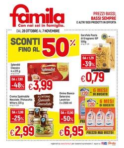 Offerte di Iper Supermercati nella volantino di Famila ( Per altri 10 giorni)