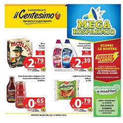 Offerte Iper Supermercati nella volantino di Il Centesimo a Trapani ( Per altri 2 giorni )