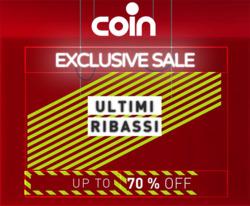 Offerte di Coin nella volantino di Sassari