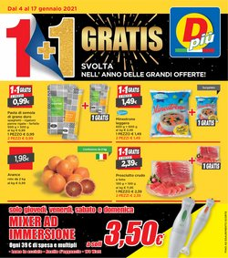 Offerte Discount nella volantino di DPiù a Olgiate Olona ( Scade oggi )