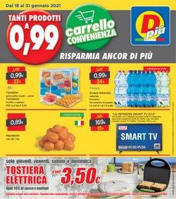 Offerte Discount nella volantino di DPiù a Bologna ( Pubblicato ieri )