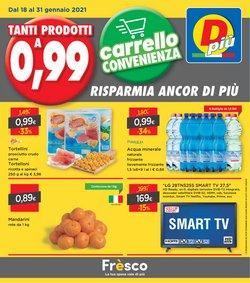 Offerte Discount nella volantino di DPiù a Fiume Veneto ( Per altri 7 giorni )