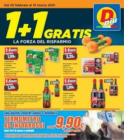 Offerte Discount nella volantino di DPiù a Mestre ( 3  gg pubblicati )