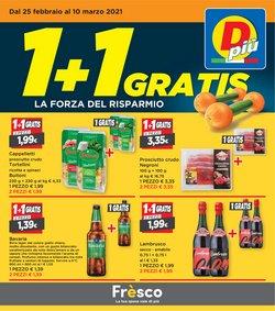 Offerte Discount nella volantino di DPiù a Lecco ( Per altri 5 giorni )