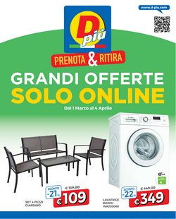 Offerte Discount nella volantino di DPiù a Firenze ( Per altri 27 giorni )