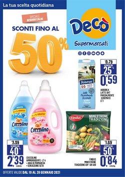 Offerte Iper Supermercati nella volantino di Deco Supermercati a Formia ( 2  gg pubblicati )