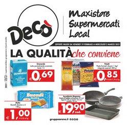 Offerte Iper Supermercati nella volantino di Deco Supermercati a Milazzo ( Per altri 3 giorni )